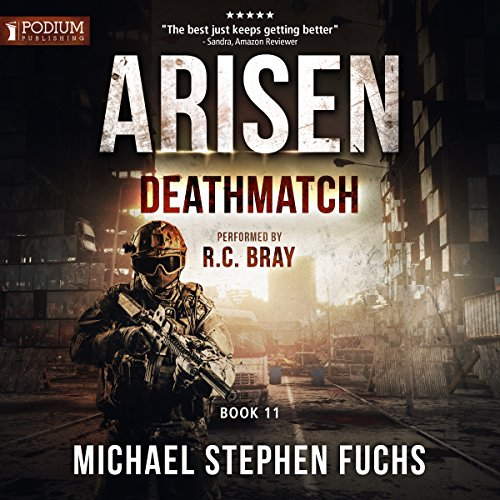 Deathmatch audiobook cover art