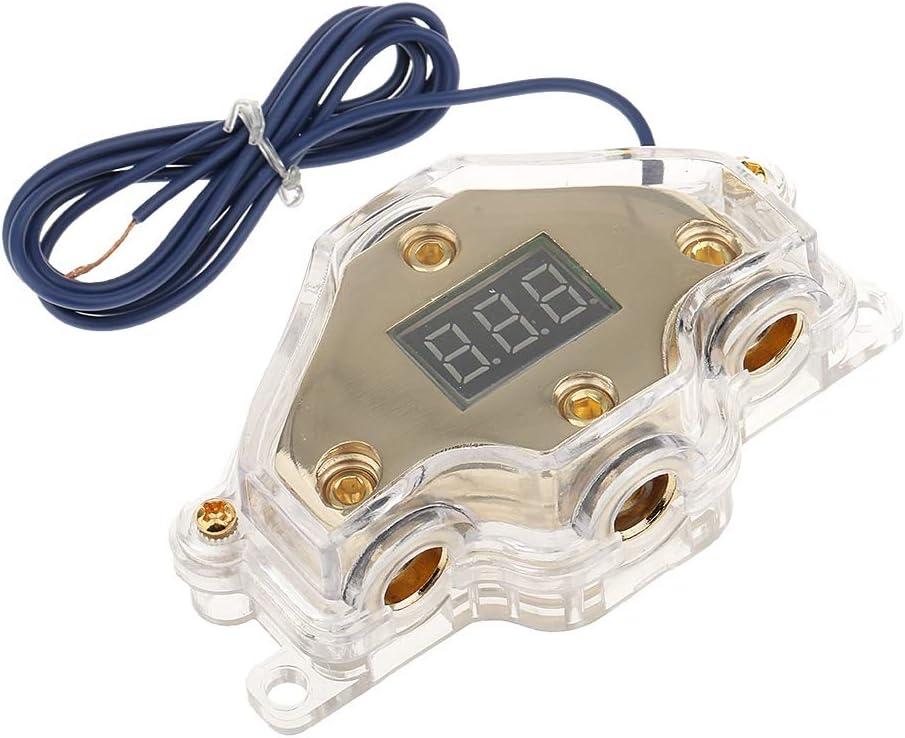 JYEMDV Car Audio online shopping Power Distribution with Digital V Block Time sale Display