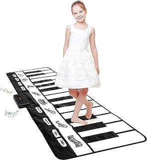 "Giant Piano Mat 24 Keys Floor Piano Mat for Kids 71"""