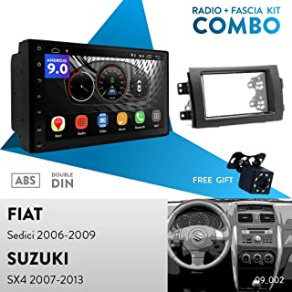 Suzuki SX4 2007-2013 UGAR EX8 7 Android 8.1 Car Stereo Radio Plus 09-002 Fascia Kit for FIAT Sedici 2006-2009