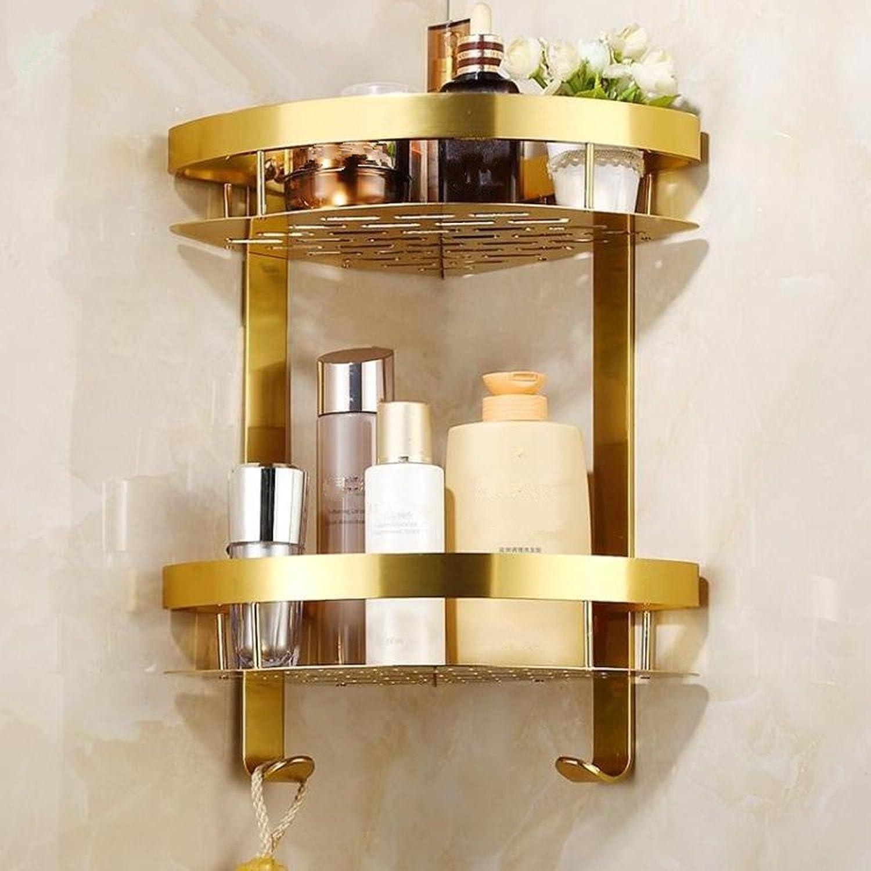 European golden triangle basket bathroom corner shelves tripods toilet triangle basket racks