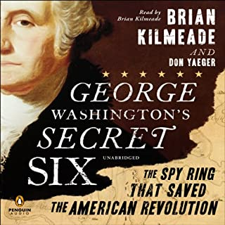 George Washington's Secret Six audiobook cover art
