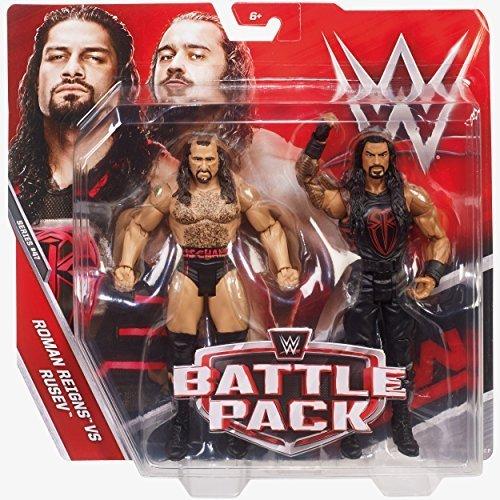 WWE Pack de Lucha Serie 47 Figura de Acción - Handsome Rusev & Roman Reigns: Amazon.es: Juguetes y juegos