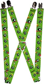 Buckle-Down Suspenders - Marvin The Martian W/poses/expressions Green Accessory