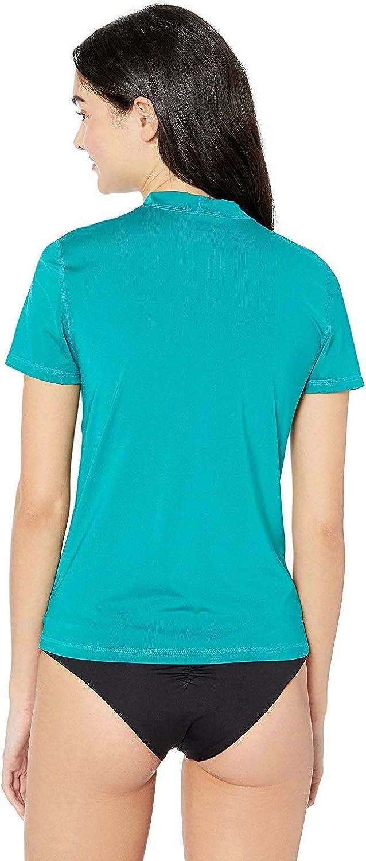 Billabong Womens Core Loose Fit Short Sleeve Rashguard