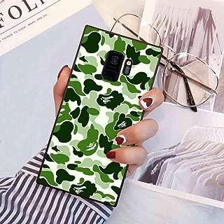Phone Case Compatible Galaxy S9 (5.8 Inch) Fashion Bape Patteren