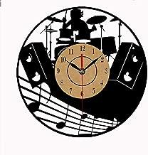 No murale Vinyl Disc Clock Theme Art CD Clock Reloj Creative Clock Inicio(30cm.12)