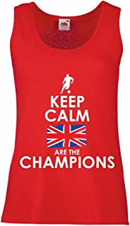 N4507P Female Tank top North Irish are The Champions !