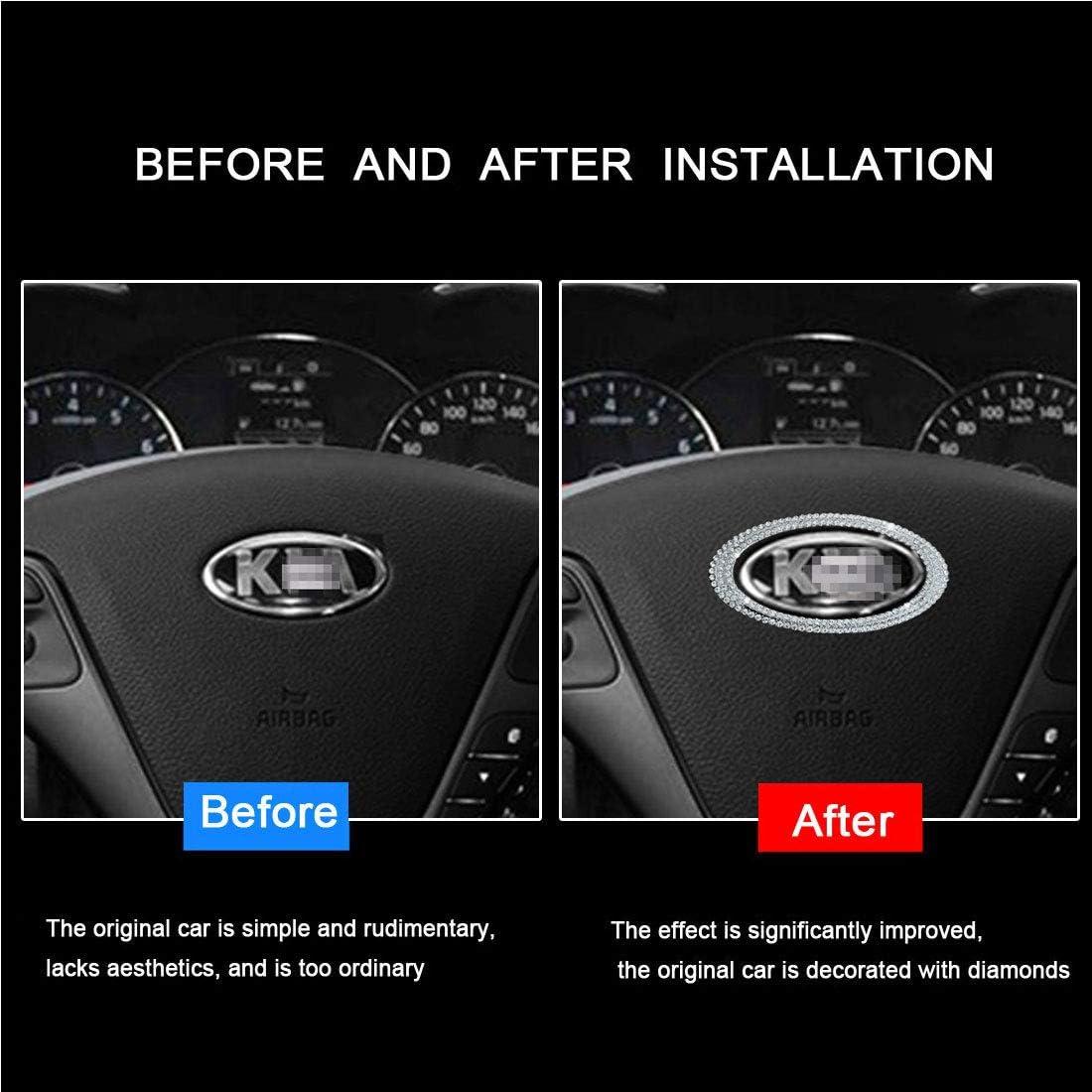 Automotive Steering Accessories for Car Steering Wheel Emblem ...