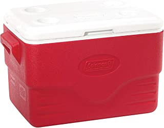 Caixa Térmica 36 QT com Tampa Removível 34 Litros Vermelho - Coleman