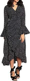 mela navy floral print maxi dress