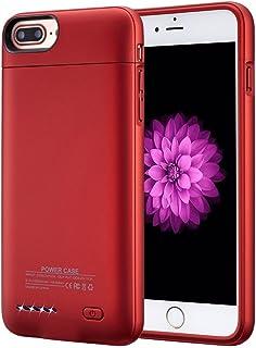 693142d2418 YiYunTE Funda Batería iPhone 7 Plus Case Carcasa Con Batería Cargador- batería Externa Recargable 4300mAh