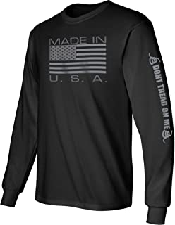 made in usa long sleeve t shirts