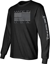 Best long sleeve tee shirts made in usa Reviews