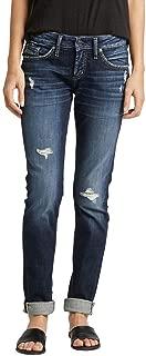 Women's Plus Size Mid Rise Boyfriend Jeans