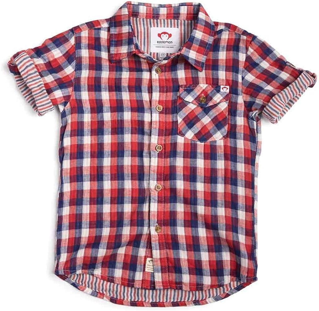 Benson Shirt   Patriot Check