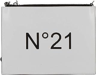N°21 Women's N05207NT0018N0004 White Leather Clutch