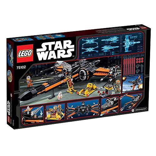 Chasseur LEGO Star Wars Poe X-Wing Fighter 75102 - 717 Pièces - 4