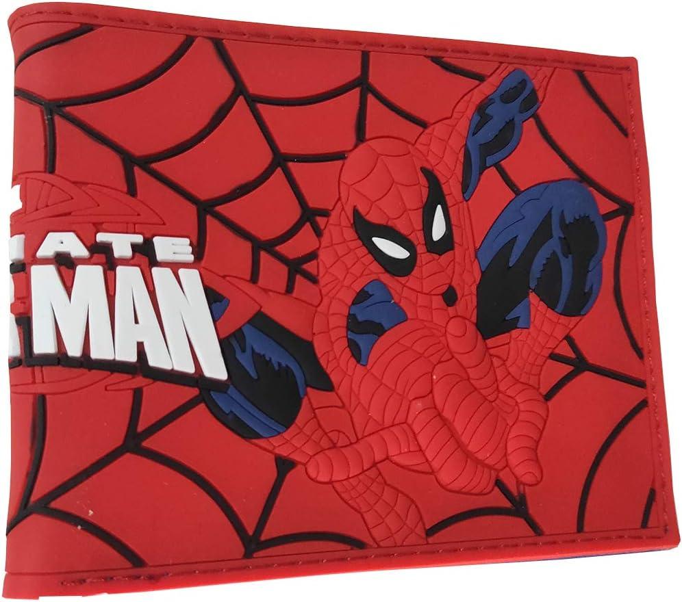 Superhero PVC material Bifold Ranking TOP15 Spiderman Finally popular brand Wallet