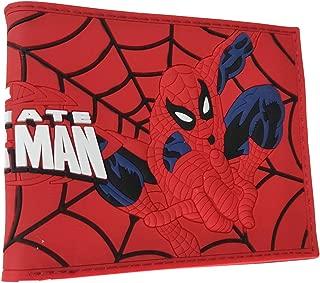 Marvel Spiderman's PVC material Bifold Wallet (Spiderman)