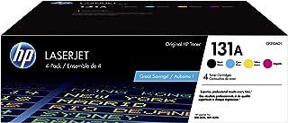 Best HP 131A | CF210AQ1 | 4 Toner Cartridges | Black, Cyan, Magenta, Yellow Review