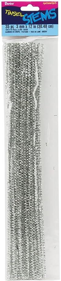 Darice 10422-19 Tinsel Stems 3mm 12