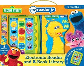 Sesame Street Me Reader Jr. (Electronic Reader and 8-Book Library) by (2013-01-01)