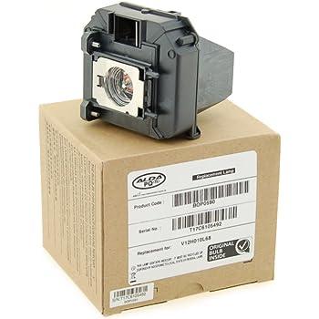 Alda PQ Professionell, Beamerlampe für EPSON EH-TW6100W Projektoren, Markenlampe mit PRO-G6s Gehäuse