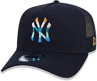 Boné New York Yankees New Era Color Stripe, Mlb, Masculino, Marinho, U