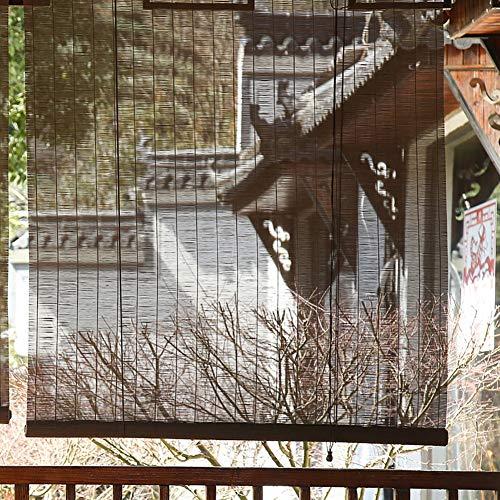 FF Estores enrollables Persianas Enrollables Externas para Terraza con Pérgola Exterior, Balcón, Sombrillas Opacas con Accesorios, 80/100/120/130/140 Cm De Ancho (Size : 80×140cm)