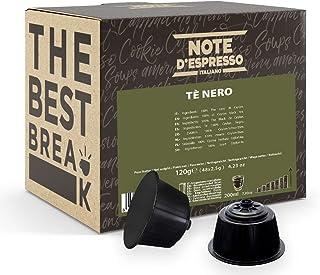 Note d'Espresso - Noir - Capsules de Thé - Exclusivement Compatible avec les Machines Nescafé* et Dolce Gusto* - 48 x x 2.5 g