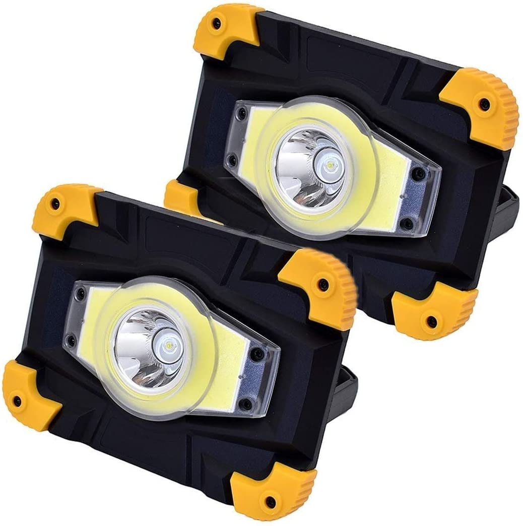 YAOJIA Led Work Lights Same day shipping 10W USB Light Year-end gift Rechargeable Porta LED