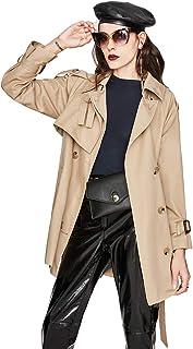 Short Windbreaker Femminile Autunno/Inverno 2020 alla Moda Piccolo Cappotto Allentato con Alto Stile Britannico
