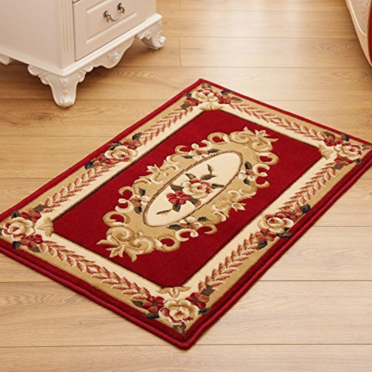 HOMEE Carpet Parlor Door Entrance Mats Adhering the Pads on the Suction Feet Bedroom Bed Blankets