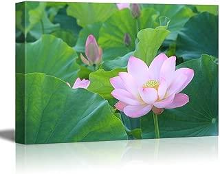 lotus leaf canvas
