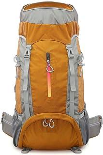 Mochilas de Senderismo Bolsa de Alpinismo Ocio Camping Bolsa de Senderismo 60L Mochila de Alpinismo Profesional Gran Capacidad al Aire Libre para Senderismo Escalada Camping Mochilero