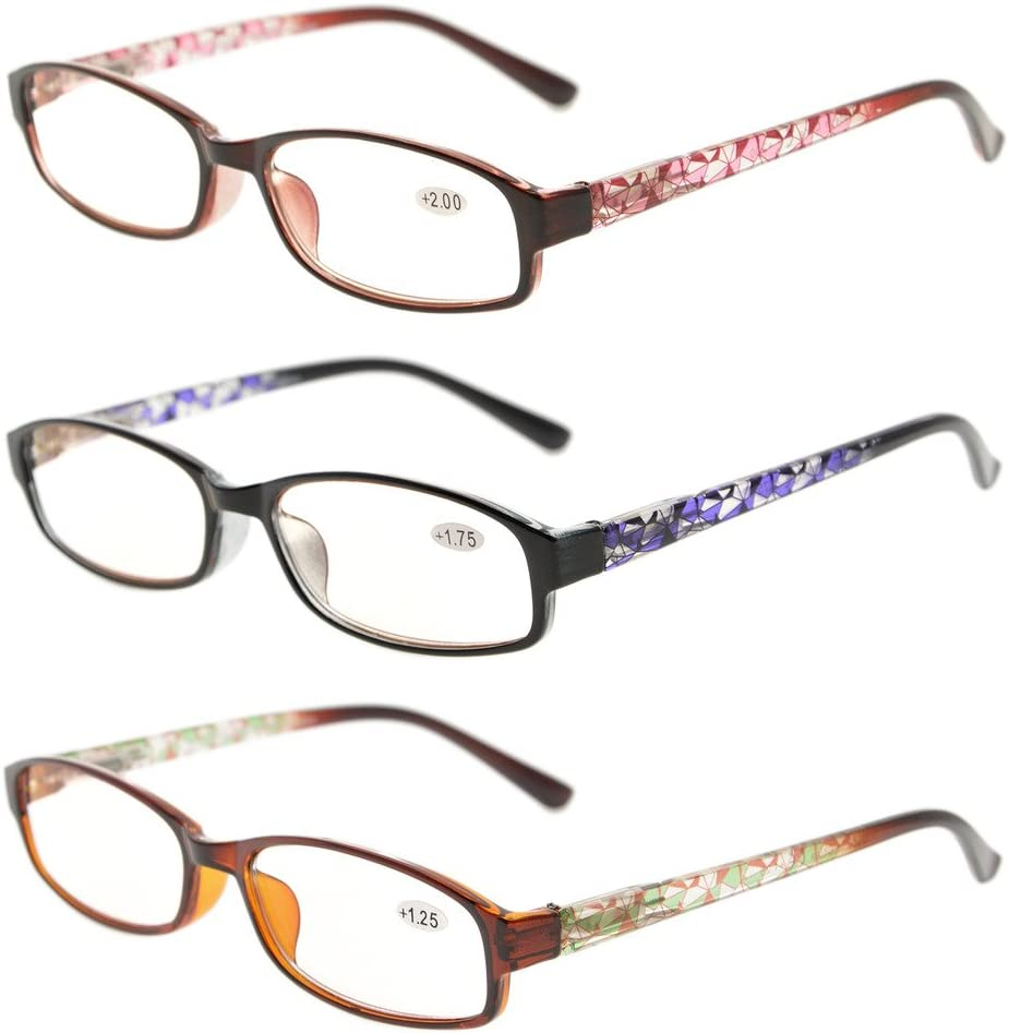 Buy Eyekepper Readers 20 Pack of Womens Reading Glasses with ...