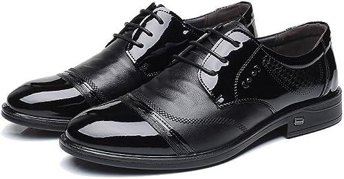 ZPFME Herren Leder Schnürschuhe Oxford Schuhe Für Herren Business Schuhe Formelle Derby Smart Hochzeit Schuhe