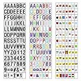 Caja de luz cinematográfica de 7 colores cambiantes con 120 letras,...