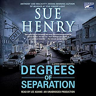 Degrees of Separation audiobook cover art