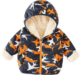 Fairy Baby Kids Winter Fleece Outwear Jacket Hooded Coat Boys Girls Cute Snowsuit