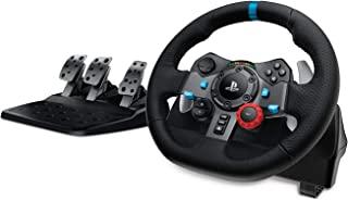 Logitech G29 Driving Force Volante da Corsa con Pedali Regolabili, Ritorno di Forza Reale, Comandi Cambio in Acciaio Inoss...