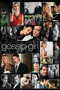 PremiumPrints - Gossip Girl TV Series Show Poster - XTVS219 Premium Canvas 11  x 17   28 cm x 43 cm