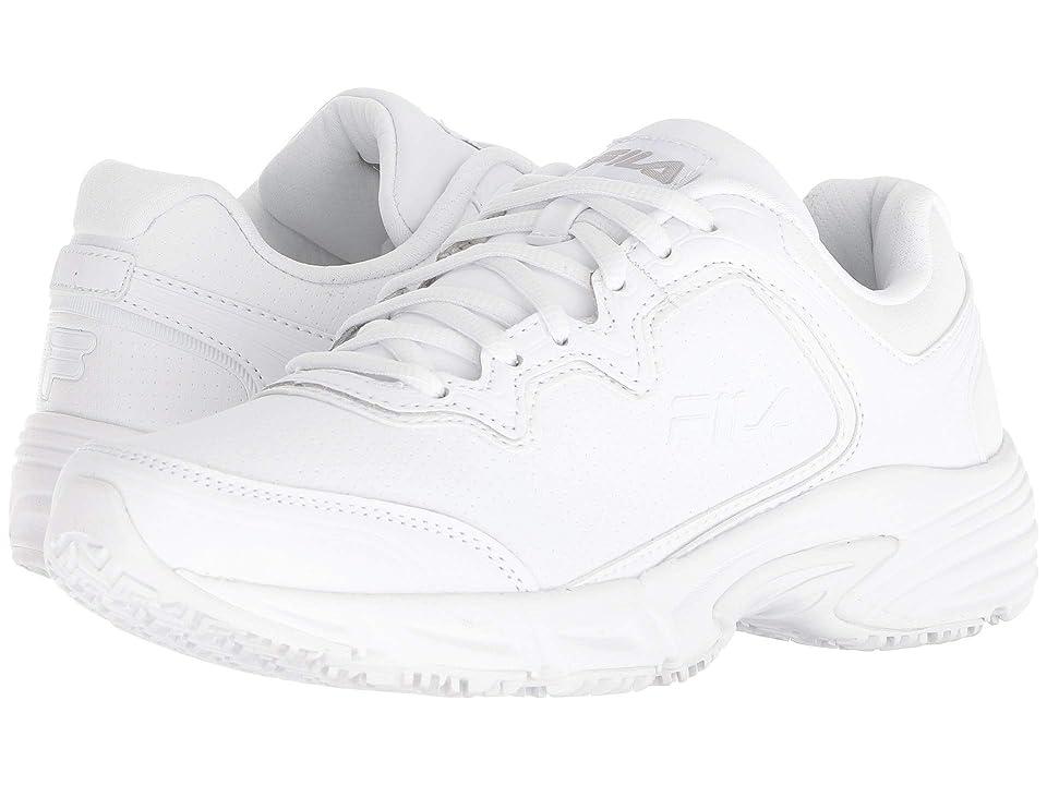 Fila Memory Fresh Start 2 Slip Resistant (White/White/White) Women