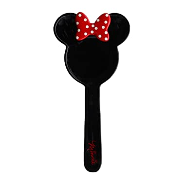 Disney Minnie Mouse Black Ceramic Kitchen Spoon Rest, 10 Inches