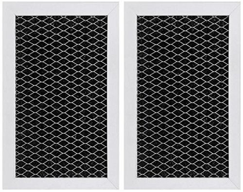 Replacement for GE JX81J, WB02X11124, WB06X10823, Microwave Recirculating Charcoal Filter (2-Pack)