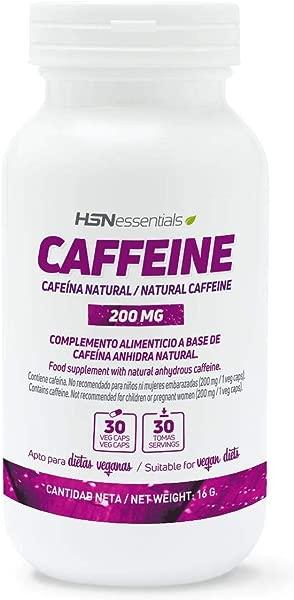HSN Essentials CAFEINE Naturelle 200mg Veg Caps