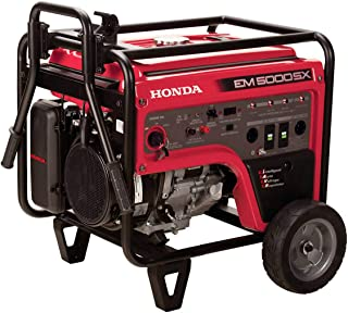 Honda 660530 5,000 Watt Portable Generator w/ iAVR Technology (CARB)