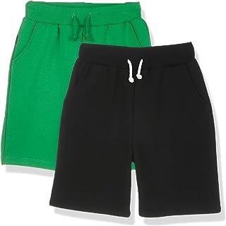 Kid Nation Boy's 2 Packs Basic Active Stretch Soft Sport Shorts