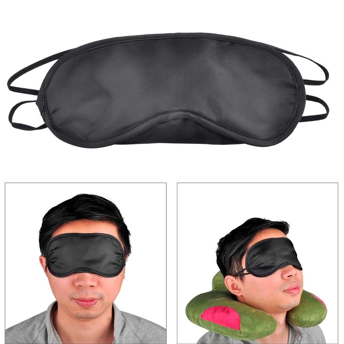 背骨中止します接続NOTE 100ピース/パックギフト旅行睡眠アイマスクブラックシェード目隠しアイパッチナイト経済送料無料